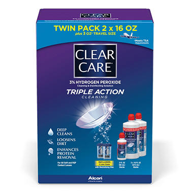 Clear Care Bonus Pack - 35 oz.