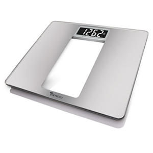 Detecto Wide Body Glass TruWhite LCD Digital Scale
