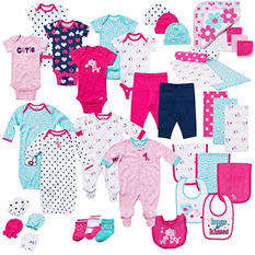 Gerber 39-Piece Baby Girl Layette Set