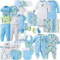 Gerber 39-Piece Baby Boys' Layette Set