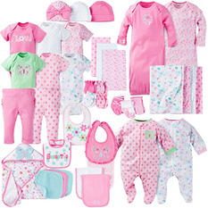 Gerber 39-Piece Baby Girls' Layette Set