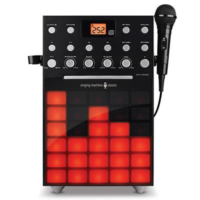 Singing Machine Karaoke Synchronized Disco LED Lights