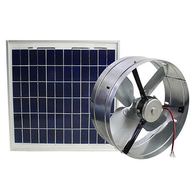 Solar Powered Gable Vent