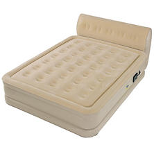 Serta Perfect Sleeper Queen Air Bed with Headboard