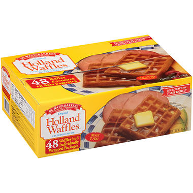 Janssen & Meyer� Original Holland Waffles - 48 ct.
