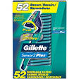 Gillette Custom Plus Disposable Razor - 52 ct.