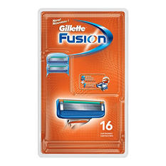 Gillette Fusion Manual Cartridges - 16 ct.