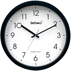 Skyscan Atomic Analog Wall Clock - 14""