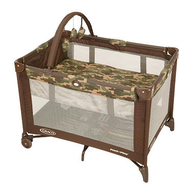 D - Graco Pack N Play, Camo Joe