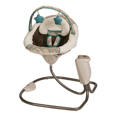 Graco Sweet Snuggle LX Infant Soothing Swing - Avery