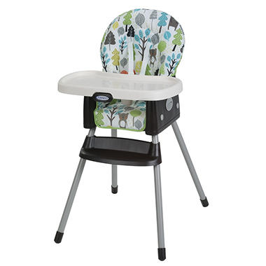 graco simpleswitch high chair bear trail by graco item 899261 model
