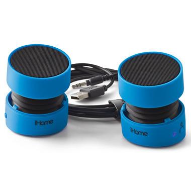 iHome Rechargeable Mini Speakers