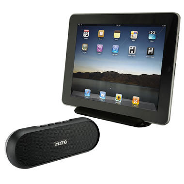 iHome Rechargeable Portable Bluetooth Speaker System for iPad/iPhone/iPod
