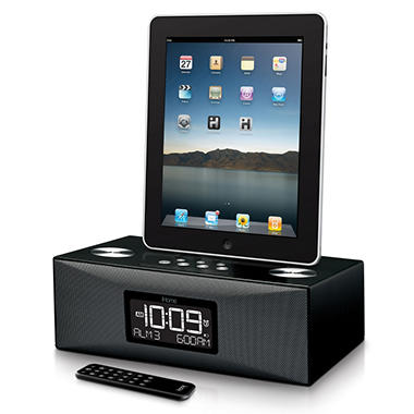 iHome Alarm Clock Radio for iPad/iPhone/iPod