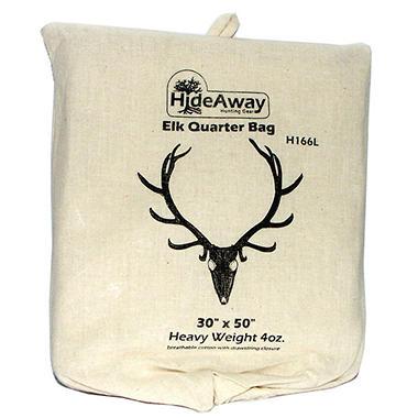 HideAway® Big Game Elk Quarter Bag - 4oz./4 ct.