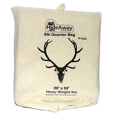 HideAway� Big Game Elk Quarter Bag - 4oz./4 ct.