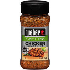 Weber Salt-Free Chicken Seasoning (6.75 oz.)