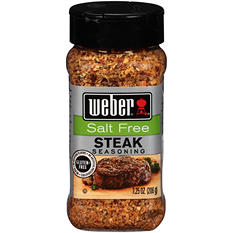 Weber Salt Free Steak Seasoning (7.25 oz.)