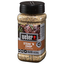 Weber® Steak 'n Chop™ Seasoning - 8.5 oz.