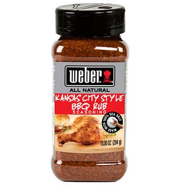 Weber Kansas City Style BBQ Rub Seasoning - 10 oz.