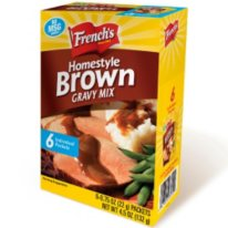 French's® Brown Gravy Mix - 6/.75 oz. packets