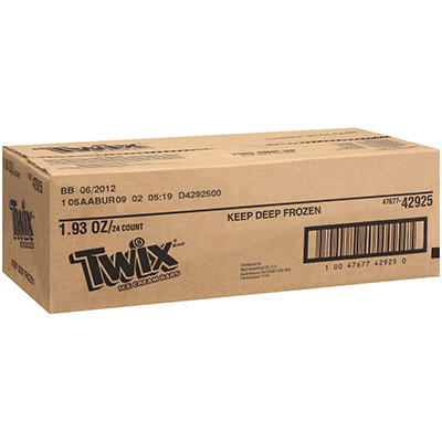 Twix® Ice Cream Bars - 24 ct.