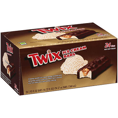 Twix� Ice Cream Bars - 24 ct.