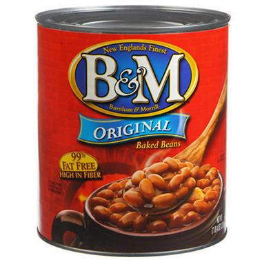 B&M® Original Baked Beans - 7 lb. 4 oz. can