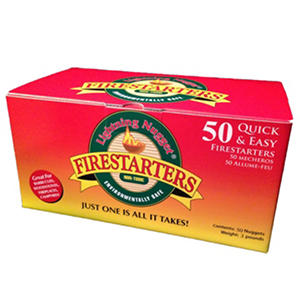 Lightning Nuggets Fire Starters - 50 Count