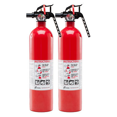 Basic Fire Extinguisher Twin Pack