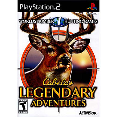 Cabelas Legendary Adventures - PS2