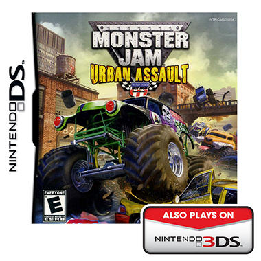 Monster Urban Assault - NDS