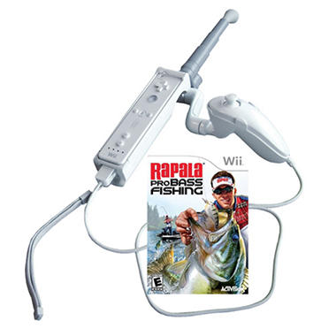 Rapala pro bass fishing 2010 with rod wii sam 39 s club for Fish cleaning table bass pro