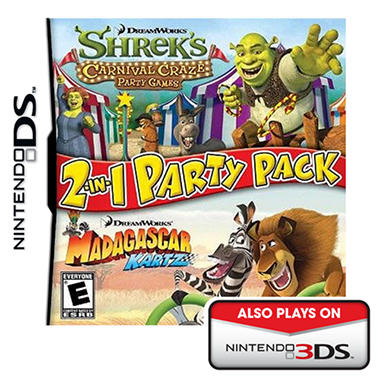 Dreamworks 2-in-1 Party Pack - NDS