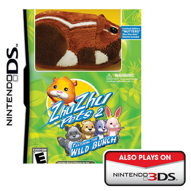ZhuZhu Pets Wild Bunch with Gift - NDS