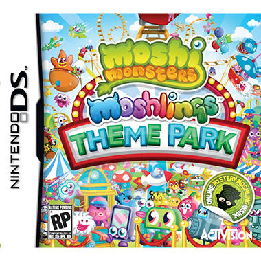 Moshi Monsters Moshlings Theme Park – DS