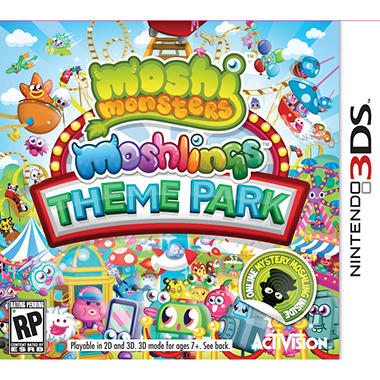 Moshi Monsters Moshlings Theme Park – 3DS