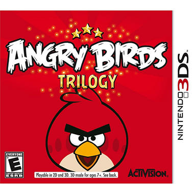 ANGRY BIRDS TRI 3DS STREET DATE 09/25/12