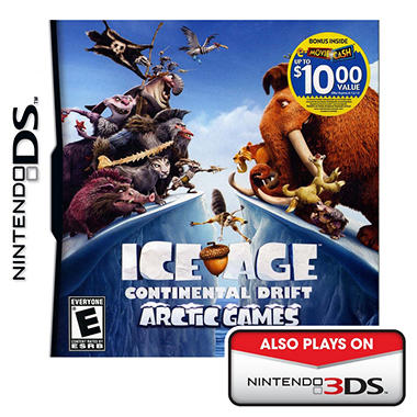 Ice Age Continental Drift Arctic Games NDS