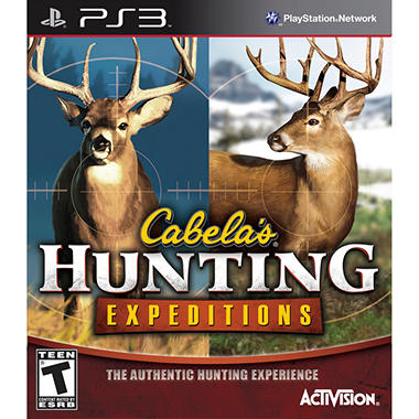 Cabela Hunting Expendition ? PS3