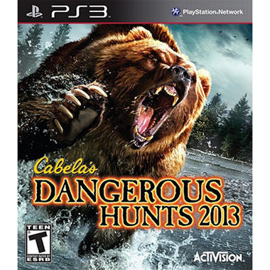 Cabela's Dangerous Hunts 2012 – PS3
