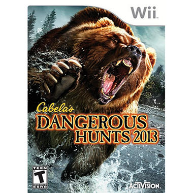 Cabela's Dangerous Hunts 2012 – WII