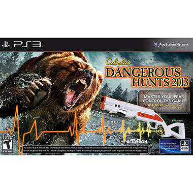 Cabela's Dangerous Hunts 2012 Bundle with Gun ? PS3