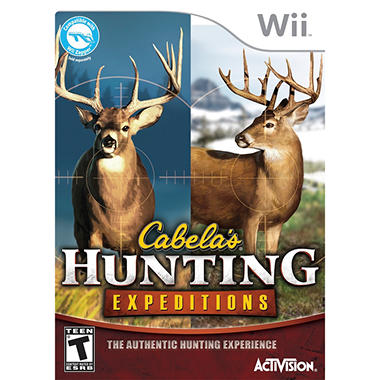 Cabela Hunting Expendition – WII
