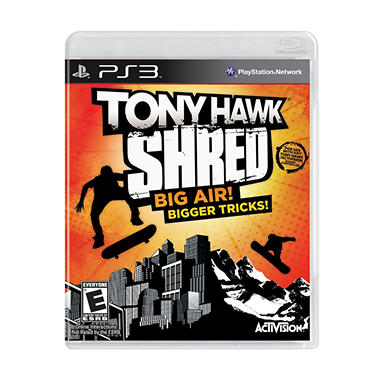 Tony Hawk Ride: Shred (game only) - PS3