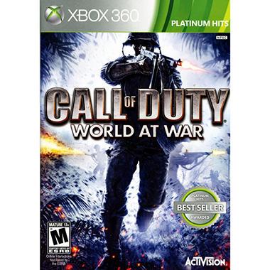 Call of Duty World at War - Xbox 360