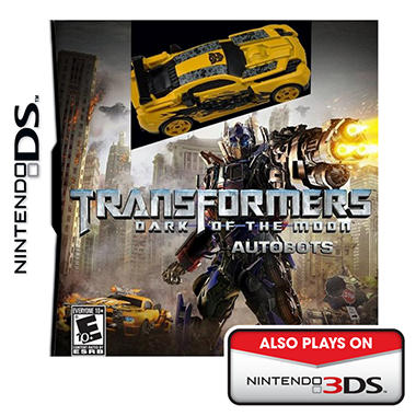 Transformers: Dark of the Moon Autobots with Car - NDS