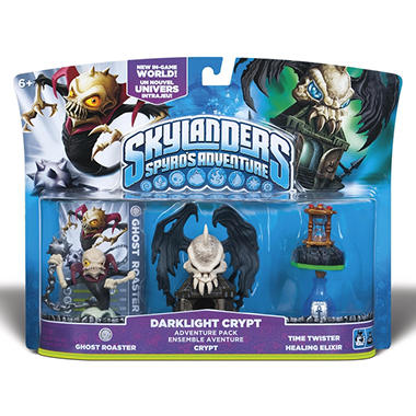 Skylanders Adventure Pack - Darklight Crypt with Ghost Roaster Figure