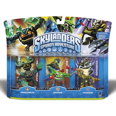 Skylanders 3 Character Pack: Prism Break, Boomer and Voodood