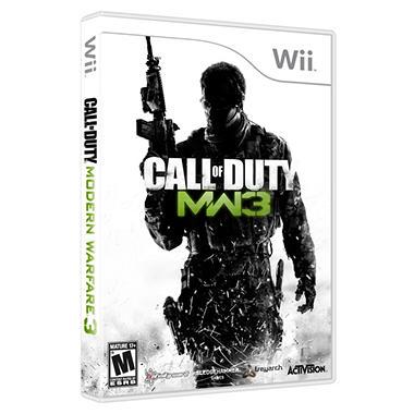 Call of Duty Modern Warfare 3 - Wii